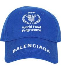 x world food programme logo cap