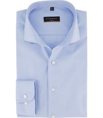 eterna overhemd blauw slim fit