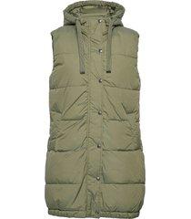 bybomina waistcoat - vests padded vests grön b.young