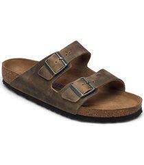 arizona soft footbed shoes summer shoes sandals grön birkenstock