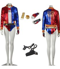 batman suicide squad harley quinn cosplay costume dress outfit suit