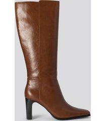 mango diva boots - brown