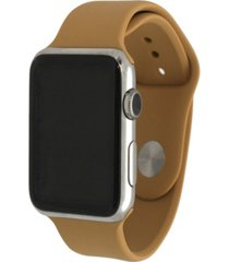 women's silicone solid color apple watch strap 42mm