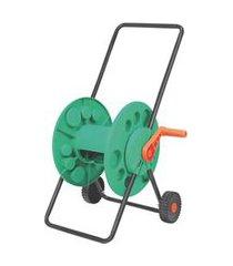 enrolador de mangueira com rodinha verde tramontina - 78595000