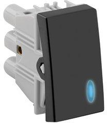 interruptor paralelo com led 10a 220v simon 30 grafite