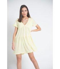 vestido amarillo a.d.e.