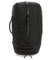 men's aer duffle pack 2 convertible backpack - black