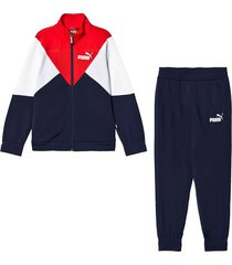 sudadera azul puma rebel poly suit cl 583254-06