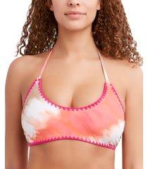 bcbgeneration reversible halter bralette bikini top women's swimsuit