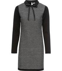 abito in maglia con fiocco (nero) - bodyflirt boutique
