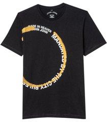 camiseta john john mandated masculina (preto, gg)