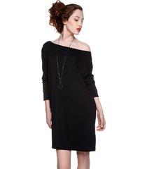 sukienka-tunika oversize czarna
