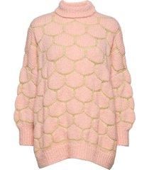 cora stickad tröja rosa rabens sal r