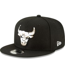gorra negro new era 950 chicago bulls-new era