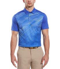 pga tour men's diagonal gradient polo shirt