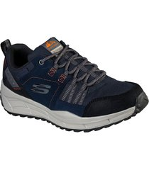 tenis lifestyle skechers relaxed fit equalizer 4.0 trail - azul