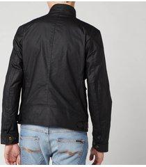 belstaff men's racemaster jacket - black - it 54/xxl
