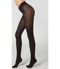 calzedonia 50 denier total comfort silky touch tights woman black size xl