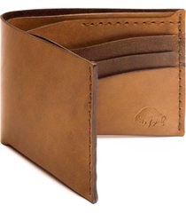 ezra arthur no. 8 leather wallet in whiskey at nordstrom