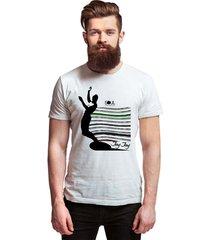 camiseta estampada jay jay surf soul masculina