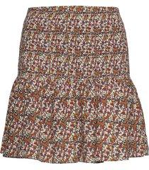 ihansikki sk kort kjol brun ichi