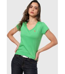 camiseta verde us polo assn