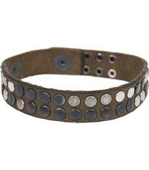 htc brown leather bracelet