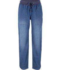 jeans con elastico in vita loose fit (blu) - bpc bonprix collection