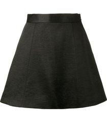 olivier theyskens mini skater skirt - black