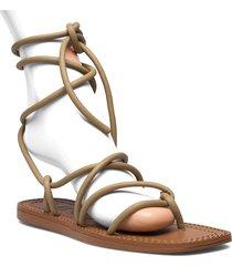turtle shoes summer shoes flat sandals beige mango