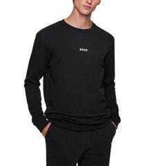 boss men's relaxed-fit sweatshirt