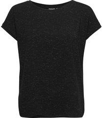 ihrebel ss6 t-shirts & tops short-sleeved svart ichi