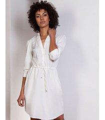 sukienka ze szczypankami