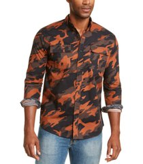 levi's men's newski camouflage shirt