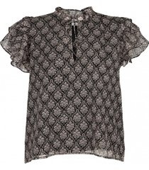 blouse ornament print