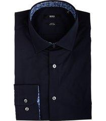 hugo boss joras overhemd donkerblauw 50439129/404