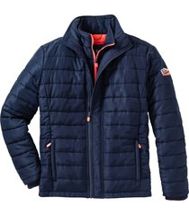 giacca trapuntata con dettagli a contrasto (blu) - bpc bonprix collection