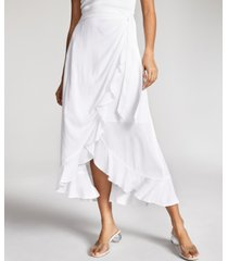 inc ruffled wrap skirt, created for macy's