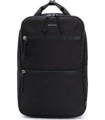 diesel ginkgo structured backpack - black
