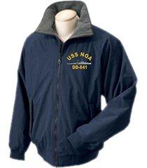 1 stop navy uss noa dd-841 portlander ship jacket sizes s through 4x