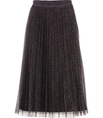 plisserad kjol i mesh