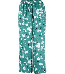 pantaloni culotte con cintura (petrolio) - bpc bonprix collection