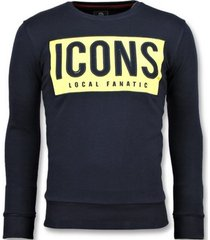 sweater local fanatic icons block b