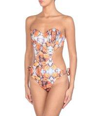 alike one-piece swimsuits