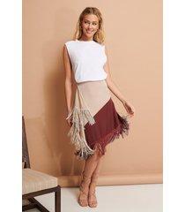 na-kd trend kort kjol - multicolor