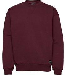 dario sweater sweat-shirt tröja röd dr. denim