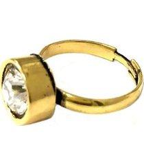 anel armazem rr bijoux cristal swarovski regulável feminino