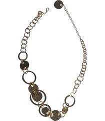 alberta ferretti medal necklace