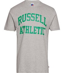 ru iconic s/s t-sh t-shirts short-sleeved grå russell athletic