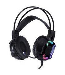 headset gamer vinik vx gaming enya 7.1 led rgb com microfone preto